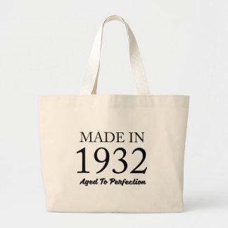 Made In 1932 Jumbo Tote Bag