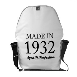 Made In 1932 Messenger Bags