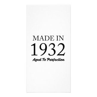 Made In 1932 Photo Card