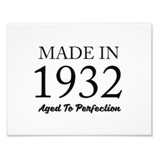 Made In 1932 Photograph