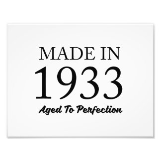 Made In 1933 Photo
