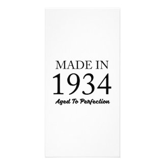 Made In 1934 Customised Photo Card
