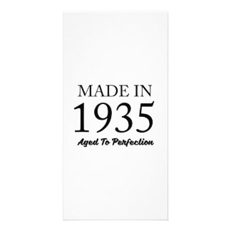 Made In 1935 Personalized Photo Card