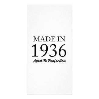 Made In 1936 Picture Card