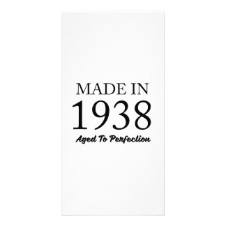 Made In 1938 Personalized Photo Card