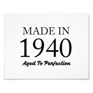 Made In 1940 Art Photo