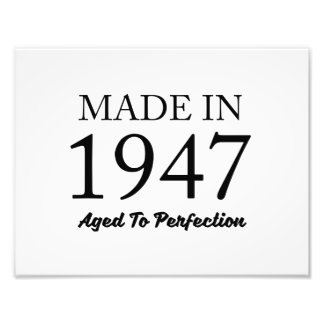 Made In 1947 Photo Art