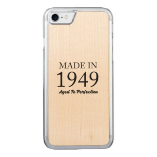 Made in 1949 carved iPhone 8/7 case