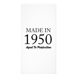 Made In 1950 Custom Photo Card