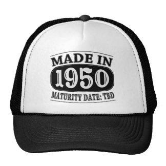 Made in 1950 - Maturity Date TDB Cap