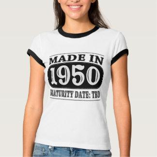 Made in 1950 - Maturity Date TDB Shirts