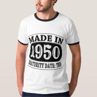 Made in 1950 - Maturity Date TDB T-Shirt