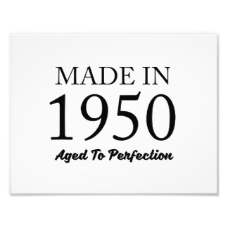 Made In 1950 Photo Art