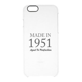 Made In 1951 Clear iPhone 6/6S Case