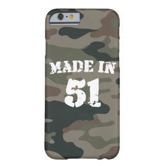 Made In 1951 iPhone 6/6s Barely There iPhone 6 Case
