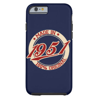 Made In 1951 Tough iPhone 6 Case