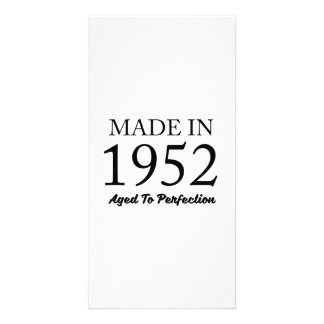 Made In 1952 Personalized Photo Card