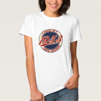 Made In 1953 T-shirts