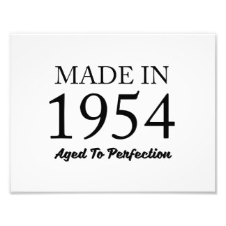 Made In 1954 Photographic Print
