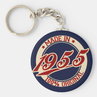 Made In 1955 Key Ring