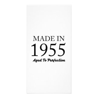Made In 1955 Personalised Photo Card
