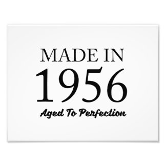 Made In 1956 Art Photo