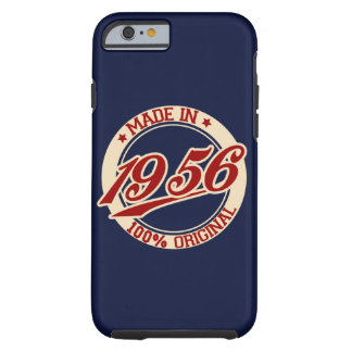 Made In 1956 Birthday Year iPhone 6/6s Tough iPhone 6 Case
