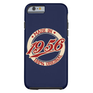 Made In 1956 Birthday Year Tough iPhone 6 Case