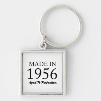 Made In 1956 Key Ring