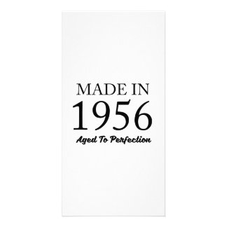 Made In 1956 Personalised Photo Card