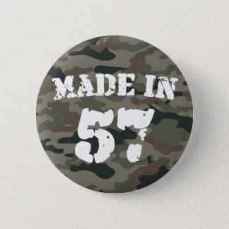 Made In 1957 6 Cm Round Badge