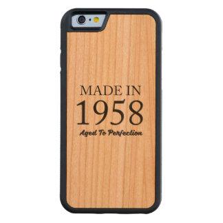 Made In 1958 Cherry iPhone 6 Bumper Case