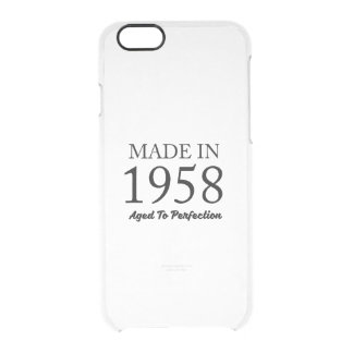 Made In 1958 Clear iPhone 6/6S Case