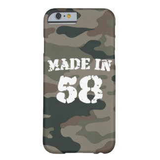 Made In 1958 iPhone 6/6s Barely There iPhone 6 Case