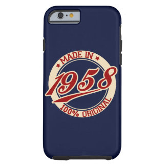 Made In 1958 Tough iPhone 6 Case