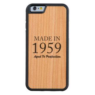 Made In 1959 Cherry iPhone 6 Bumper Case