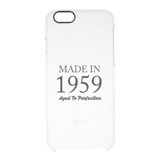 Made In 1959 Clear iPhone 6/6S Case
