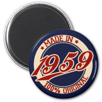 Made In 1959 Magnet
