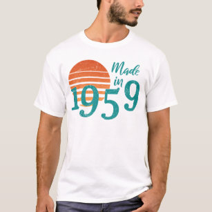 Made In 1959 Vintage T Shirt