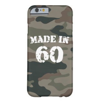 Made In 1960 iPhone 6/6s Barely There iPhone 6 Case