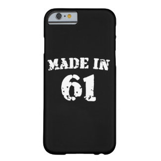 Made In 1961 iPhone 6/6s Barely There iPhone 6 Case
