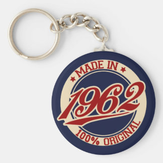 Made In 1962 Keychains