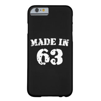Made In 1963 Barely There iPhone 6 Case