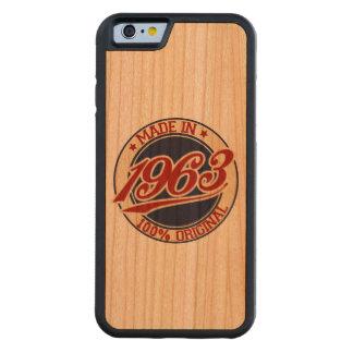 Made In 1963 Cherry iPhone 6 Bumper Case