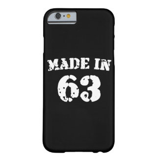 Made In 1963 iPhone 6/6s Barely There iPhone 6 Case