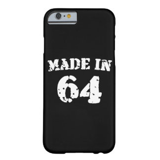Made In 1964 Barely There iPhone 6 Case