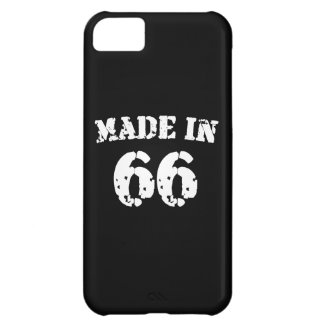 Made In 1966 Cover For iPhone 5C