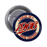 Made In 1966 Pin