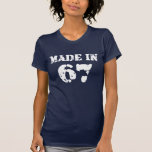 Made In 1967 Shirt T Shirts