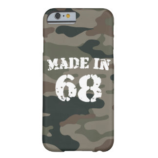 Made In 1968 iPhone 6/6s Barely There iPhone 6 Case